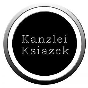 Sie sehen ein Logo der Kanzlei Ksiazek